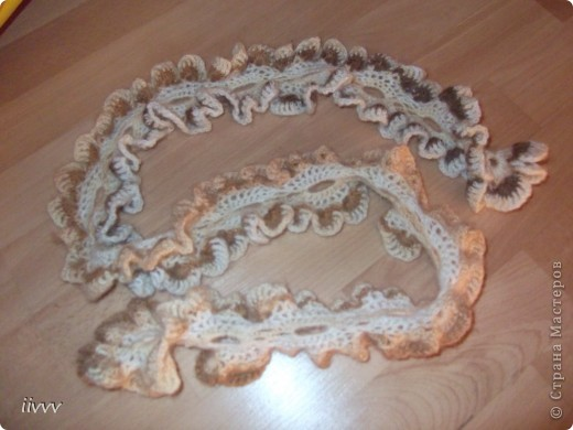 Ажурный шарфик фото 2