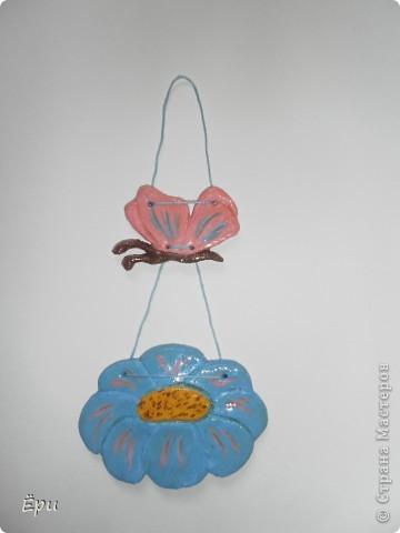 первое изделие из теста, не считая цветочков на досточке для мамы, в детском саду.. :) фото 7