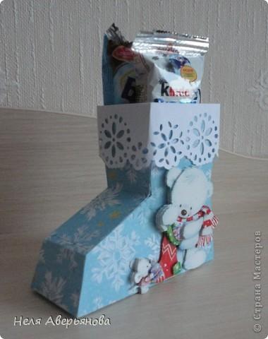 Добрый день жители Страны Мастеров! Представляю Вашему вниманию маленькую упаковку для новогоднего подарочка своим друзьям, одноклассникам, любимым ученикам или коллегам по работе. фото 6