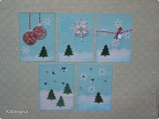 """Приветик! Продолжая новогоднюю тему,представляю вашему вниманию серию карточек АТС """"За ёлкой!""""  фото 1"""