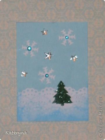 """Приветик! Продолжая новогоднюю тему,представляю вашему вниманию серию карточек АТС """"За ёлкой!""""  фото 5"""