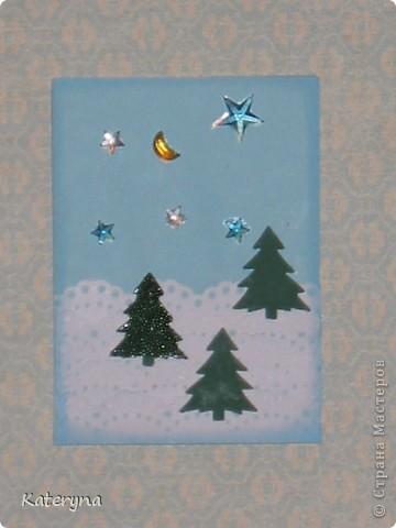 """Приветик! Продолжая новогоднюю тему,представляю вашему вниманию серию карточек АТС """"За ёлкой!""""  фото 6"""