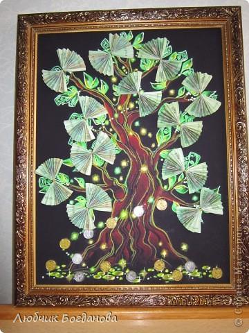 Денежное дерево, подарок на свадьбу. фото 2