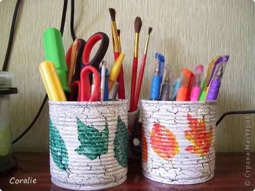 Стаканчики для ручек... фото 2