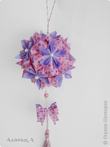Kusudama Double flower  фото 2