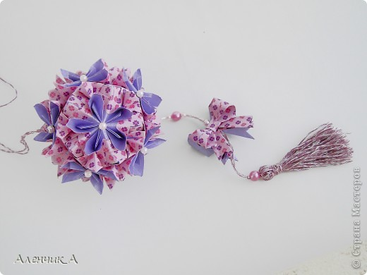 Kusudama Double flower  фото 1