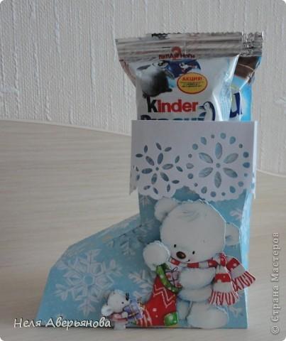 Добрый день жители Страны Мастеров! Представляю Вашему вниманию маленькую упаковку для новогоднего подарочка своим друзьям, одноклассникам, любимым ученикам или коллегам по работе. фото 5