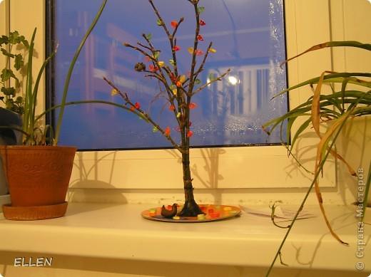 """Квиллинг - Осеннее дерево-1 """" Поиск мастер классов, поделок своими руками и рукоделия на SearchMasterclass.Net"""