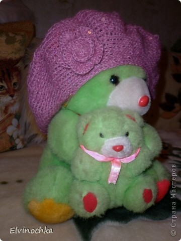 Весенняя береточка для моей любимой маме=))) фото 1