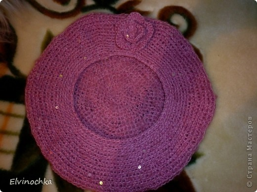 Весенняя береточка для моей любимой маме=))) фото 3