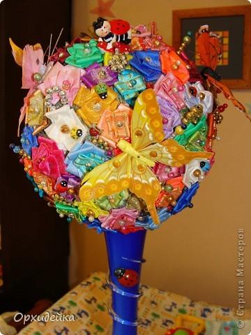Мое цветочное деревце фото 1