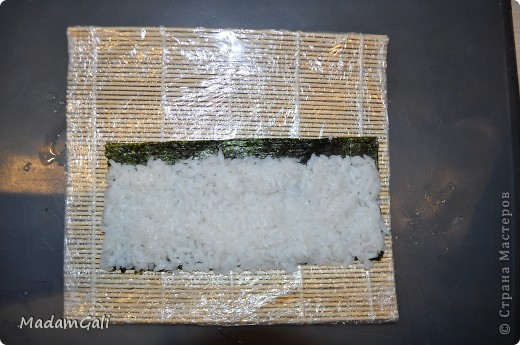 Простые роллы с лососем ( Хосомаки Сяке маки) фото 12
