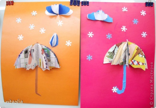Вот с такими веселыми зонтиками никакой дождь не страшен :))) фото 2
