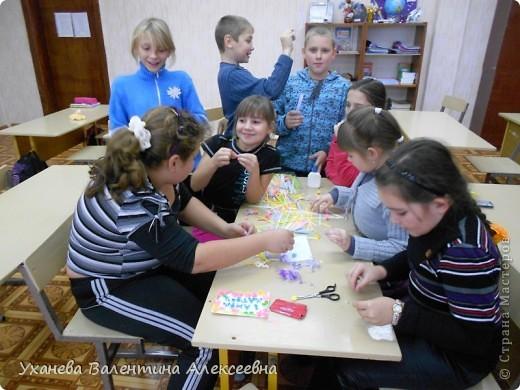 На клубных часах с учащимися готовимся к праздникам, делаем открытки, подарки, сувениры. фото 2