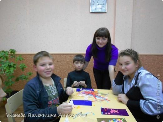 На клубных часах с учащимися готовимся к праздникам, делаем открытки, подарки, сувениры. фото 1