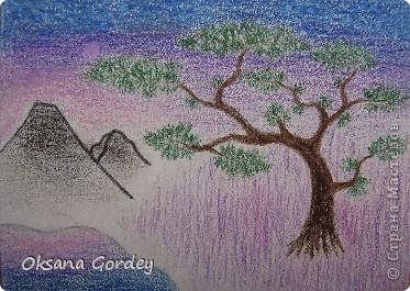 Это очередная серия моего сына. Рисовал акварельными карандашами на акварельной бумаге.  фото 4