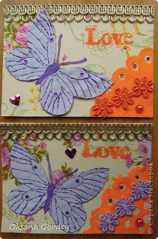 Эти бабочки мы сделали для того, чтобы рассчитаться с долгами. Бабочек делал мой сын. Они выполнены в технике выжигания по ткани. Надеемся, что понравятся кредиторам. И не только им. Если будут сильножелающие, то можем сделать продолжение. Ждем Лёку Лёкину и Copilka. фото 1