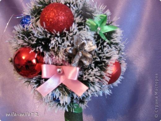 Новогоднее деревце и я решила создать, думаю ствол толстоват, а вы как думаете? фото 2