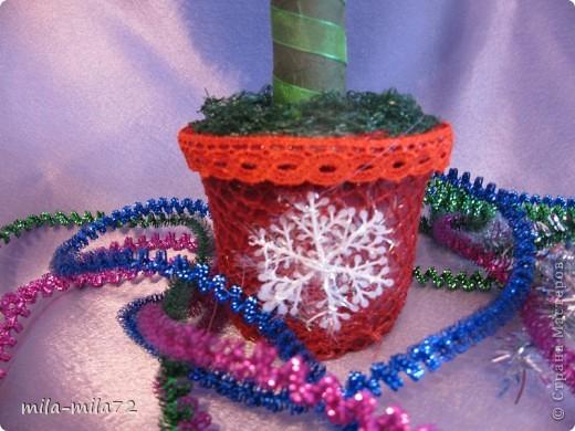 Новогоднее деревце и я решила создать, думаю ствол толстоват, а вы как думаете? фото 3
