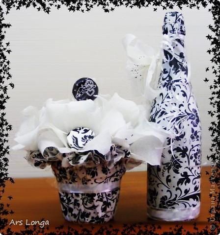 Вот такой черно-белый наборчик получился на 27-й День Свадьбы родителей моей подруги :) фото 1