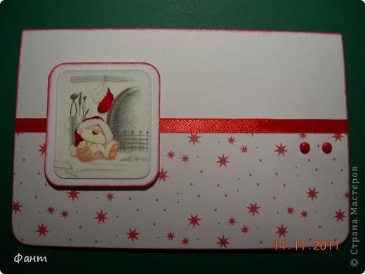 Новогодние открытки фото 13