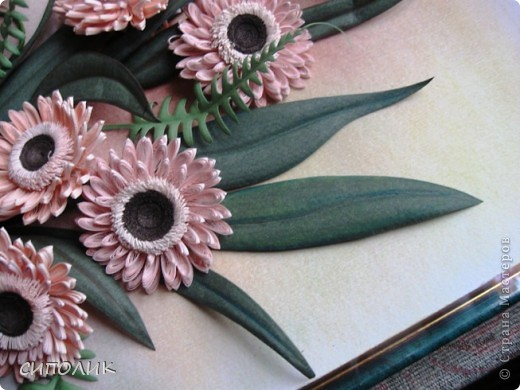 ЗДРАВСТВУЙТЕ ЖИТЕЛИ И ГОСТИ СТРАНЫ!  Сегодня я к вам с герберами. Очень люблю я эти цветы,поэтому не удержалась и попыталась сделать их . Как получилось судить вам, но сама я результатом довольна.  фото 4