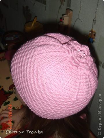 шапочка из Ярнарт джинс, крючок №2,5 фото 10