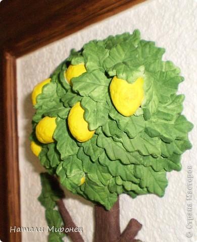 Понемножку доделываю свои полепушки. Вот такое лимонное деревце у меня получилось. Никак оно не хотело фотографироваться нормально фото 2