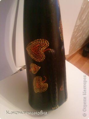 грунтовка,черный акрил,золотой и медный контур фото 2
