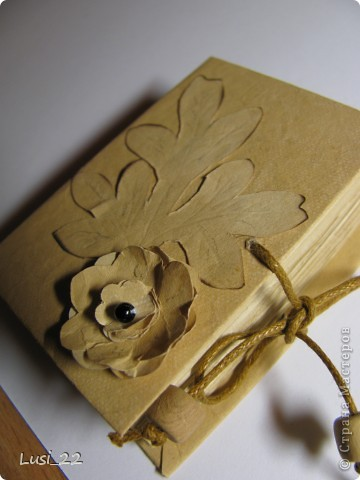 Вот такие  миниатюрные блокнотики у меня получились. Делала по этому МК http://scrapshopchallenge.blogspot.com/2010/11/quest.html фото 2