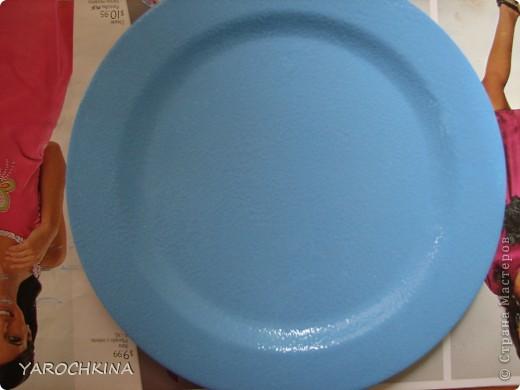 На фото не видно, но все тарелочки переливаются блесточками) фото 5