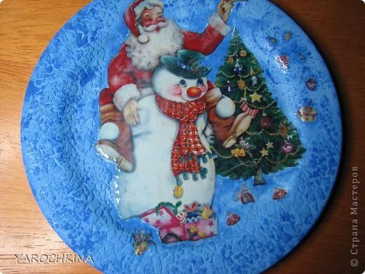 На фото не видно, но все тарелочки переливаются блесточками) фото 7
