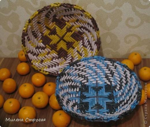 Страна мастеров плетение из газет милена строгая