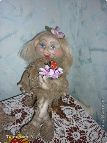 Вот решилась наконец то сделать молодую кикиморку и назвала её Марьей. фото 1