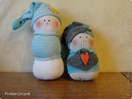 Снеговички-носки! аля тильда фото 1