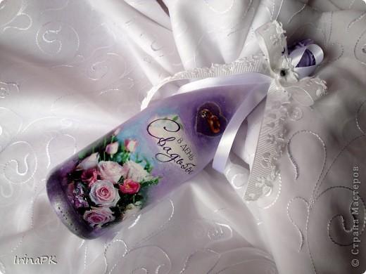 Делала на свадьбу в подарок. фото 5