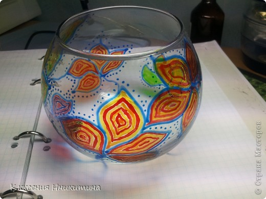 днем она простая ваза,а ночью подсвечник) фото 2