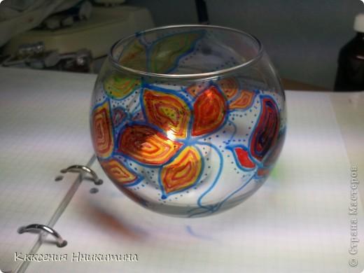 днем она простая ваза,а ночью подсвечник) фото 3
