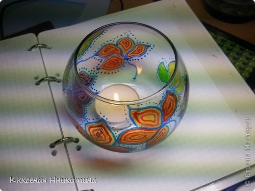 днем она простая ваза,а ночью подсвечник) фото 4