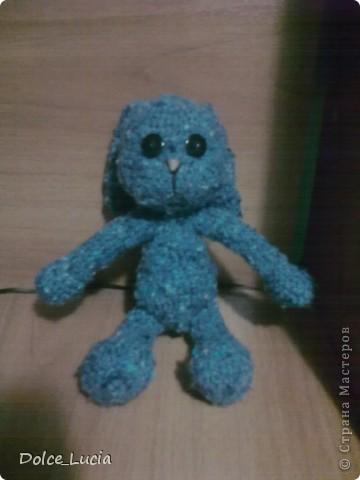 Моя первая вязаная игрушка. Из того что было) Подарила племяннику =) фото 1