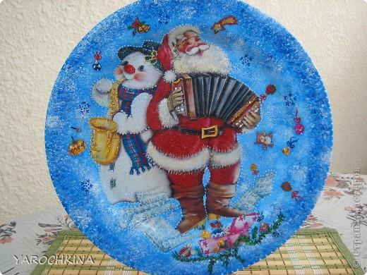 На фото не видно, но все тарелочки переливаются блесточками) фото 4