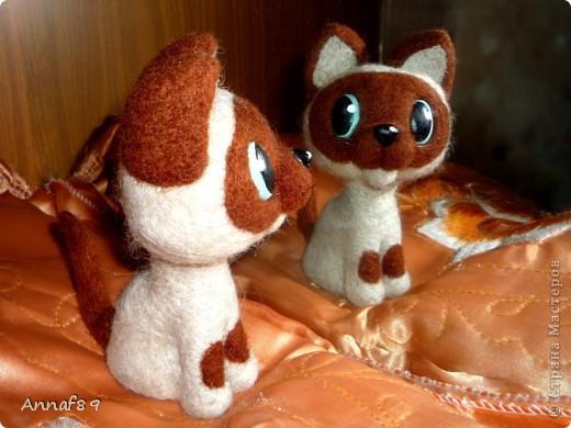 Хочу похвастаться своими игрушками из войлока. Делала их в подарок.  Карлсон, который живет на кухне :) фото 9