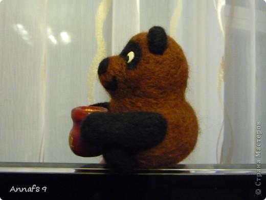 Хочу похвастаться своими игрушками из войлока. Делала их в подарок.  Карлсон, который живет на кухне :) фото 6