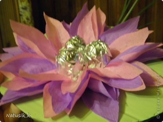 Букет из 29 цветочка. Вид с верху. фото 3