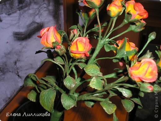 Кустовые розы из ХФ фото 4