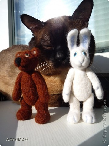 Хочу похвастаться своими игрушками из войлока. Делала их в подарок.  Карлсон, который живет на кухне :) фото 11