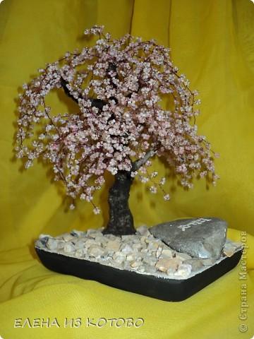 первое дерево из бисера фото 1