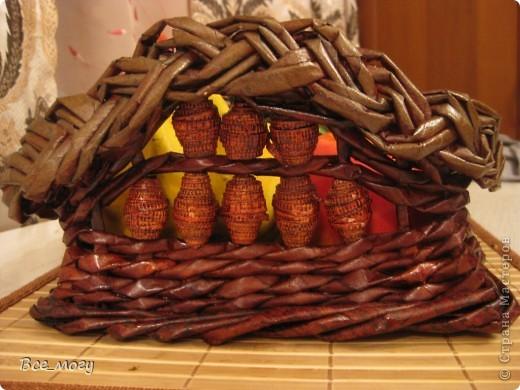 Подносик с декоративными фруктами фото 2