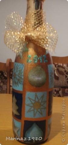 Эта бутылочка сделана на заказ для Модельного агентства г. Рязани фото 1