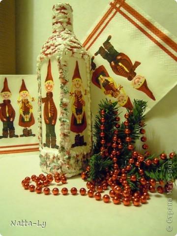 К Рождеству и Новому году. Детский вариант оформления, ну уж....совсем детский. фото 1